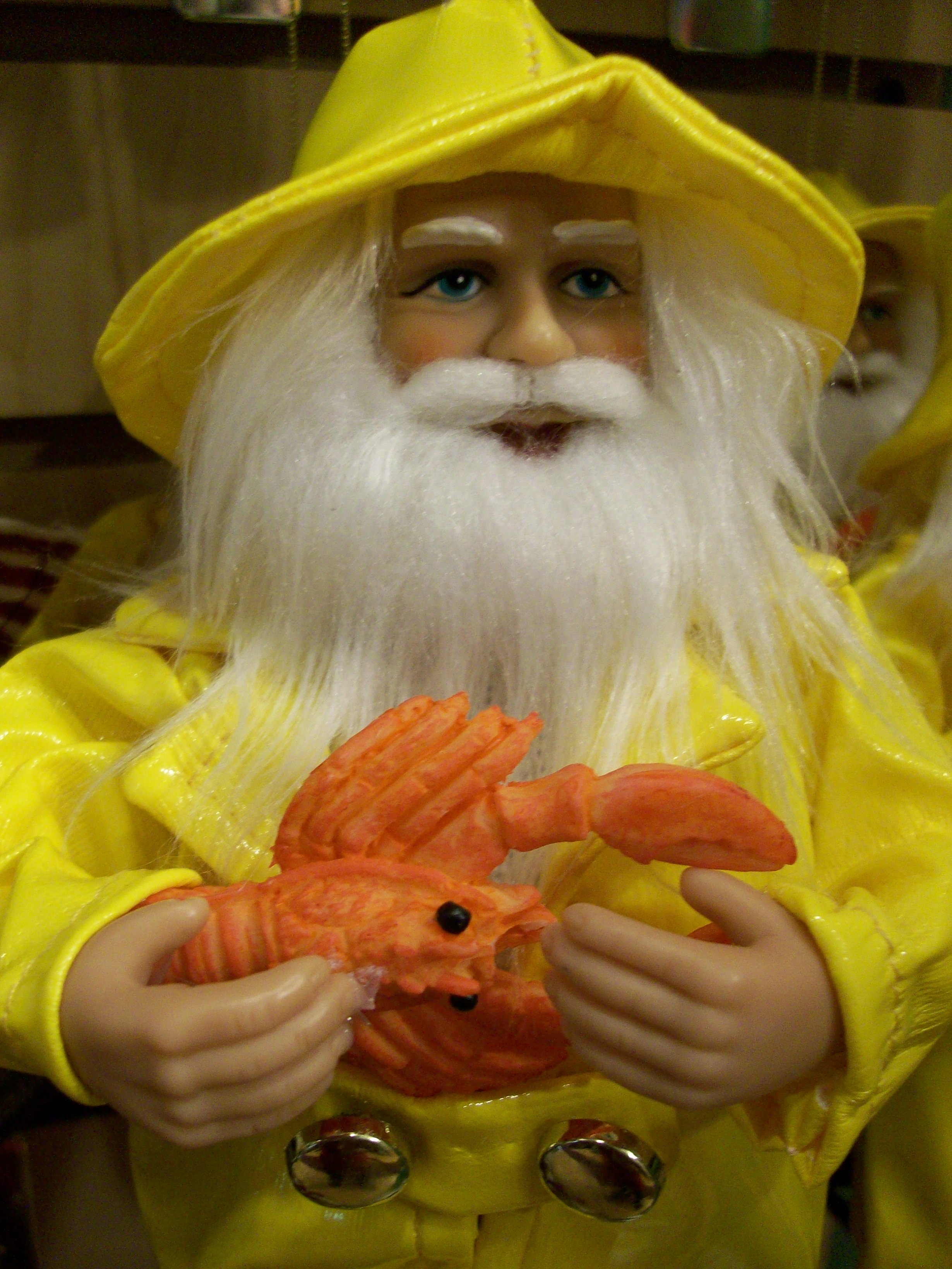 Lobsterman Santa found at ChristmasVacationShop