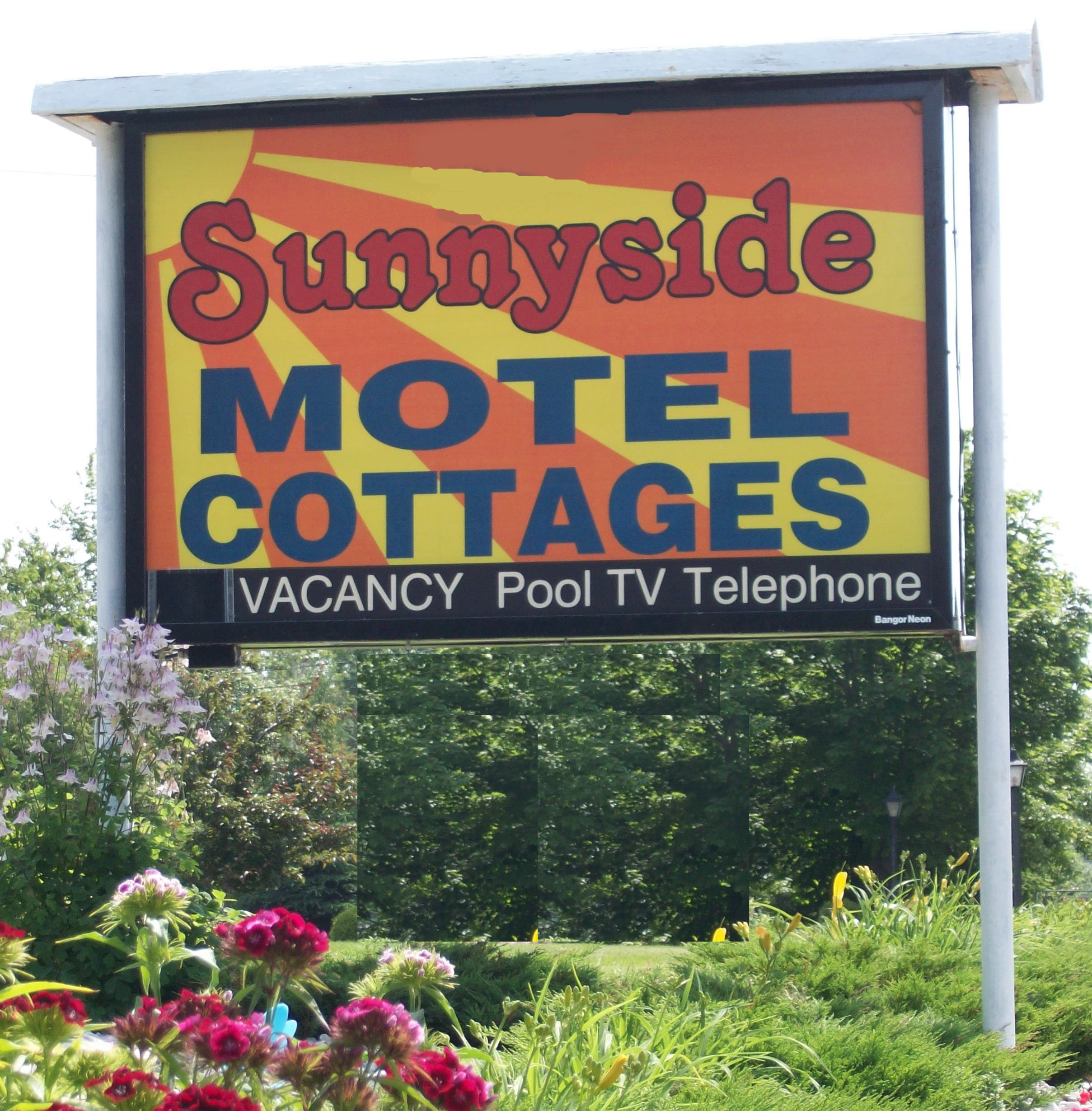 Sunnyside Cottage Sign