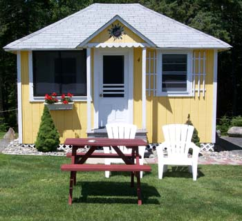 Beau Sunnyside Cottage Bar Harbor Cottage Cottage #4 Is A 1 Bedroom ...